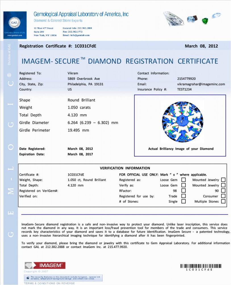 Laboratory Services Gemological Appraisal Laboratory Of